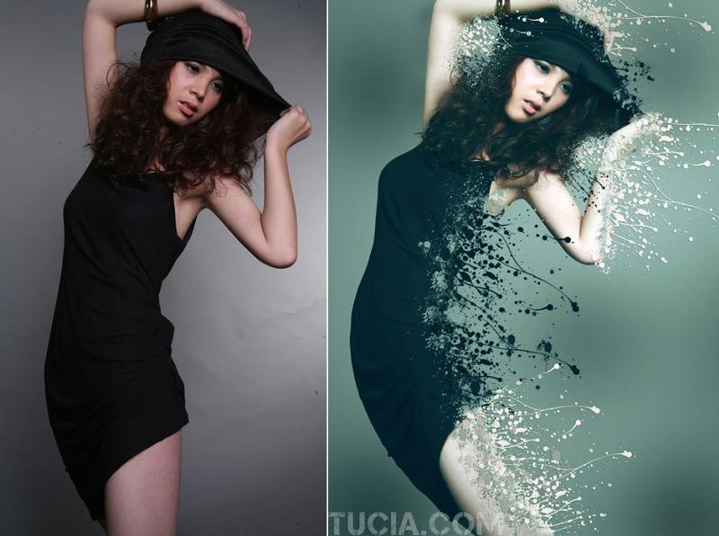 Как сделать фото с photoshop