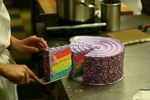 Торт цветной рецепт с фото
