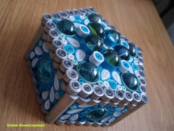 Подарок шкатулка маме на день рождения своими руками