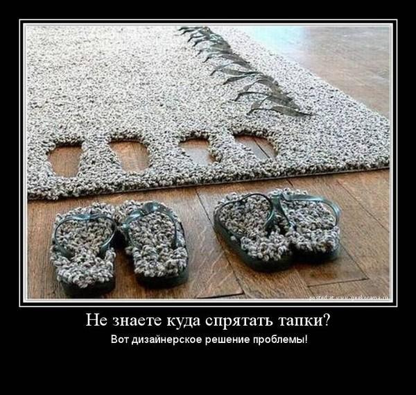 Находчивые американцы придумали ковры, которые легко можно превратить в тап