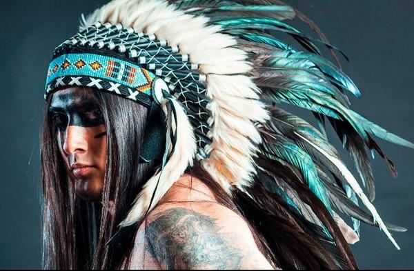Головной убор из перьев у индейцев своими руками