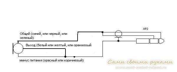 Схема подключения мкэ 3 к компьютеру