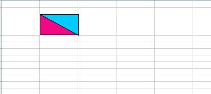 Как в эксель сделать диагональ в ячейке