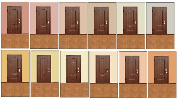 Как подобрать цвет дверей к ламинату