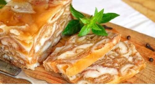 Рецепт из шкурок свинины