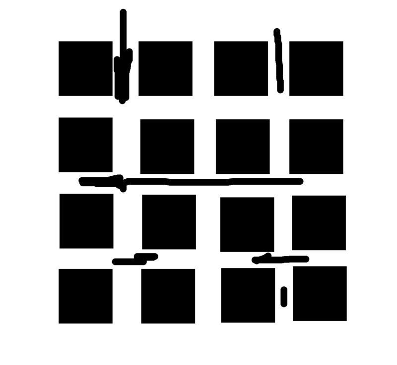 черный квадрат на аву: