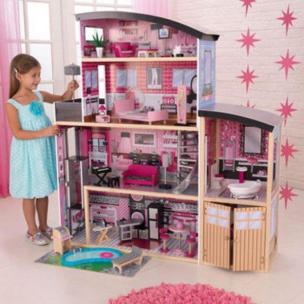 Видео как барби сделать дом