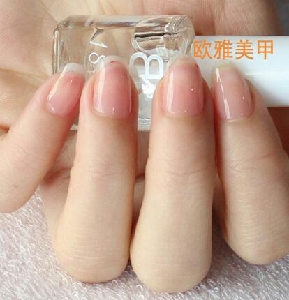 Как сделать длинные ногти из прозрачного лака