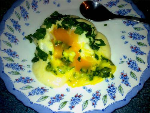 Соус для яйца пашот