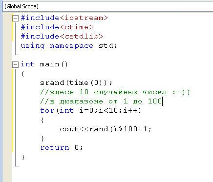 Random numbers generator pro