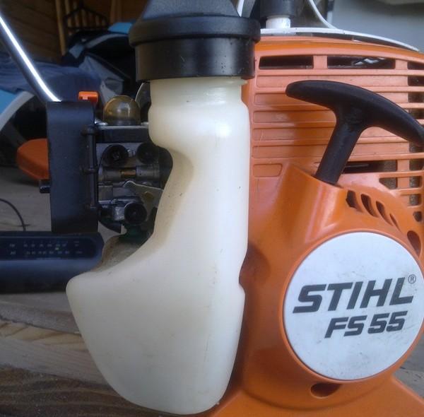 Ремонт бензокосилки штиль 55