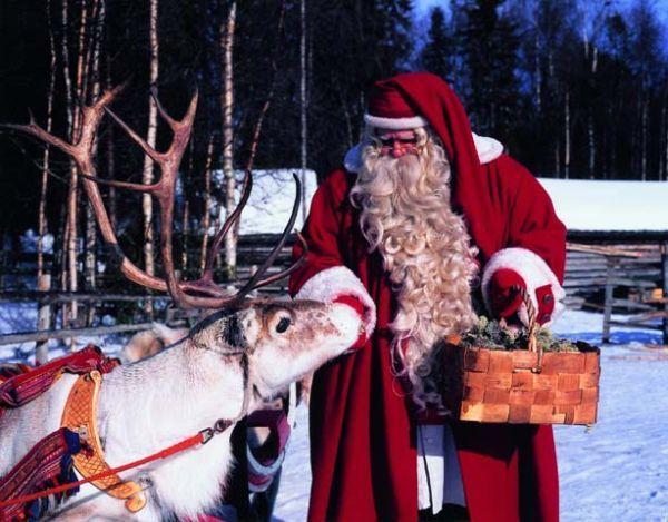 Как называется дед мороз в финляндии и почему