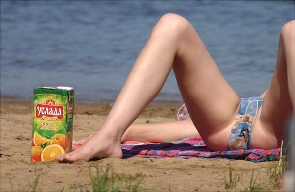 Девушка приходит на пляж и трахается с парнем голышом  568234