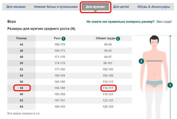 Размеры Женской Одежды Бонприкс