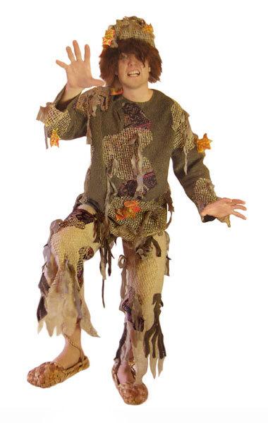 Новогодние костюмы лешего для мальчиков своими руками