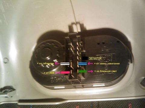 на сколько вольт стоит светодиод в мусе приоры на крутилке вкл.муса?