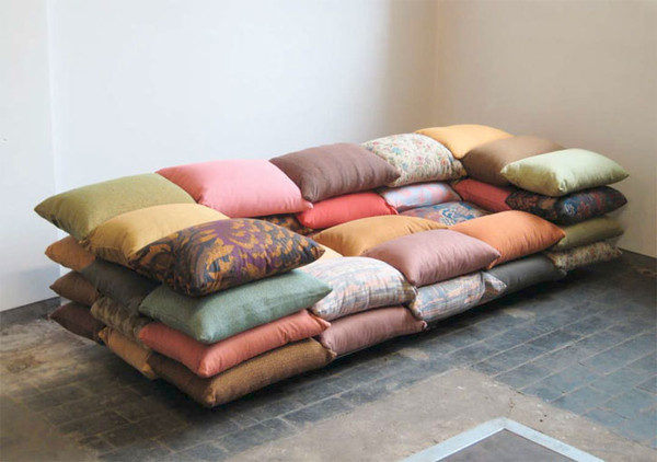 Чехлы для подушек на диван своими руками