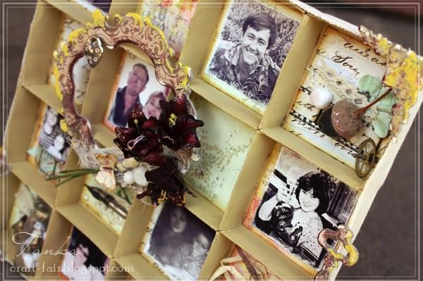 Рамки для фотографий в подарок своими руками