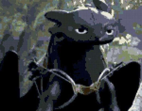 Как приручить дракона вышивка 220