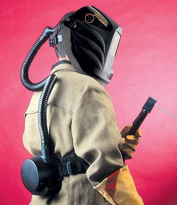 Турбоблок для сварочной маски своими руками 90