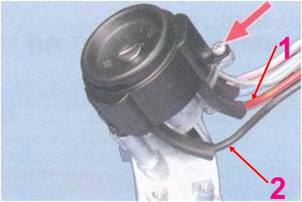 Как поставить замок зажигания на ваз 2109