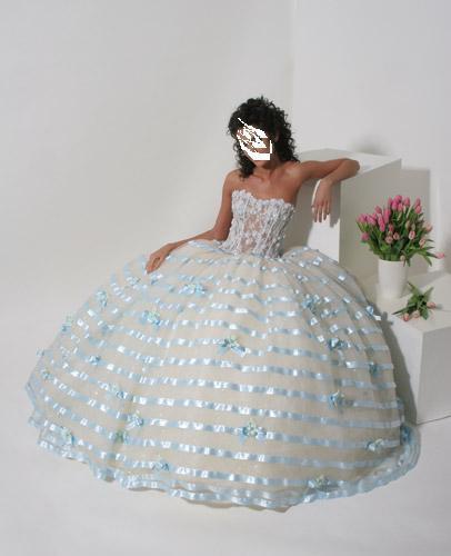 Экзотические свадебные платья!