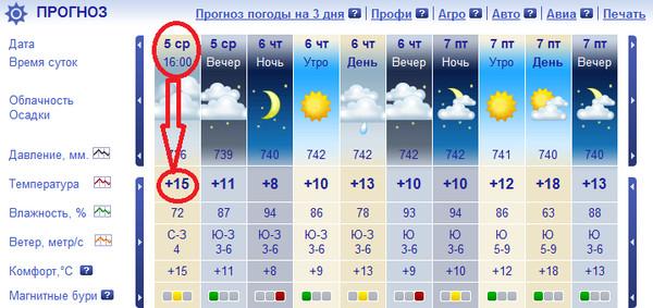 Сколько градусов было сегодня днем в москве