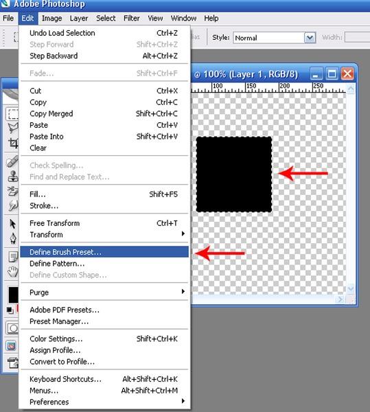 """Ответы@Mail.Ru: В фотошопе в инструменте """"штамп"""" имеются разновидности форм штампа(кистей)."""