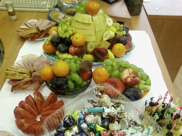 Что приготовить на свой день рождения для коллег по работе