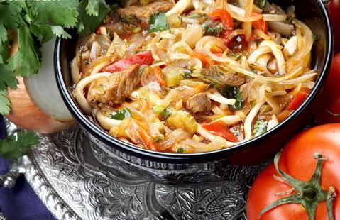 Рецепт блюда лагман фото