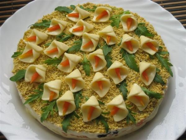 салат лук с яйцом для потенции