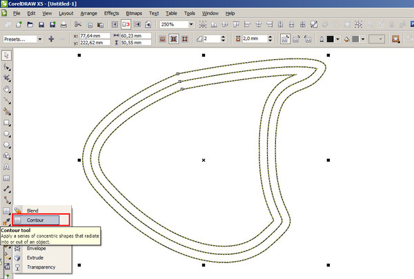 Как сделать двойную линию