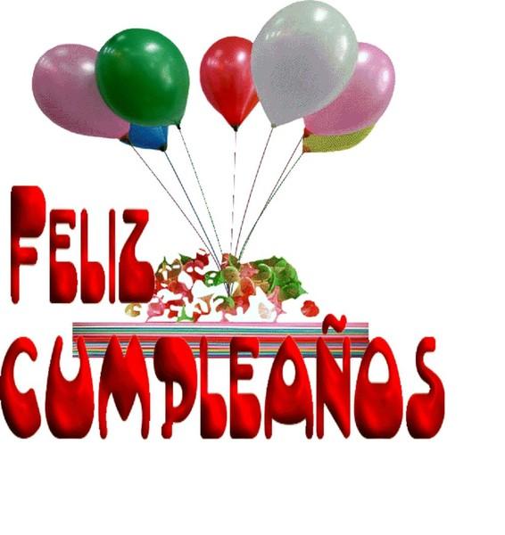 Открытка с днем рождения по-испански