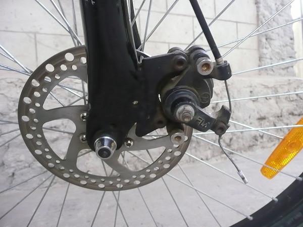 Дисковый тормоз на велосипед своими руками