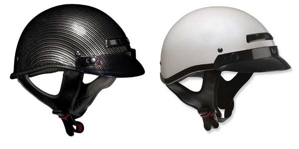 Amazoncom Vega XTS Naked Half Helmet Gloss Black X