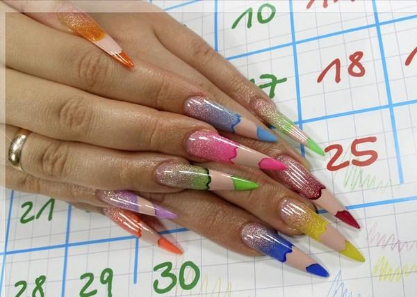 Карандаш для того чтобы рисовать на ногтях