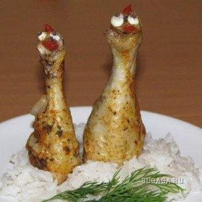 Куриные блюда на новый год рецепты