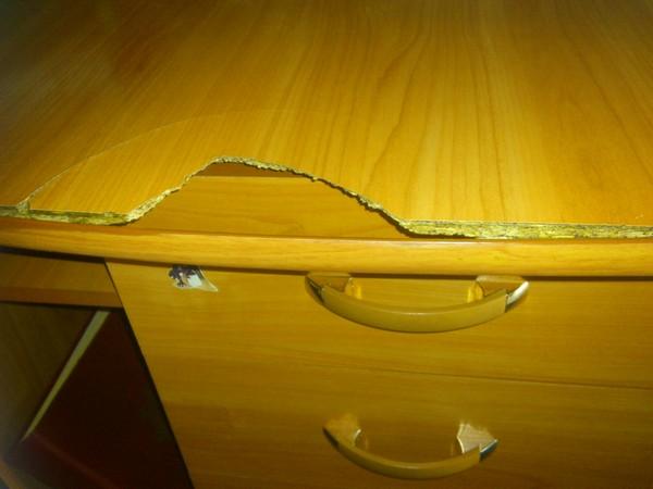 Как отремонтировать кухонную мебель из дсп своими руками