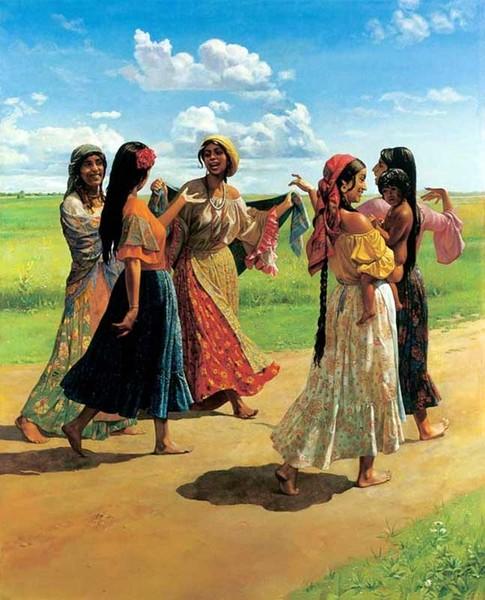 Цыганские обычаи и традиции (16 фото)