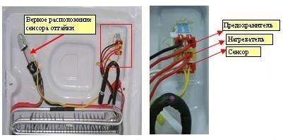 Предохранители на холодильник самсунг