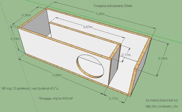 Короб на саб 10