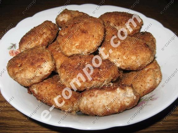 рецепты котлет из фарша свинины и говядины с картошкой