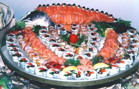 Горячие банкетные блюда из рыбы рецепты