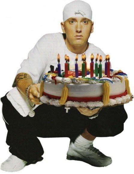 Поздравления с днем рождения в стиле рэп девушке