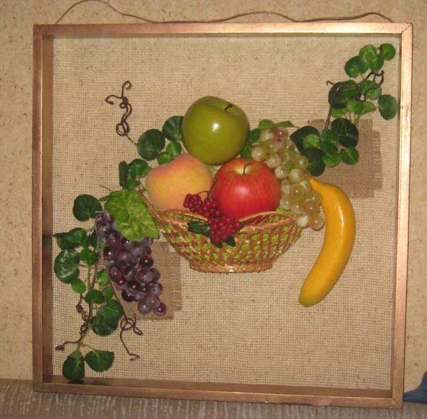 Композиции с искусственными фруктами своими руками