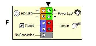 Схема подключения проводов включения к материнской плате   Блок нагрузок для проверки БП компьютера изготовление 163