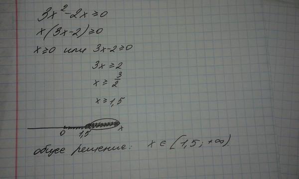 X 2 меньше или равно 2