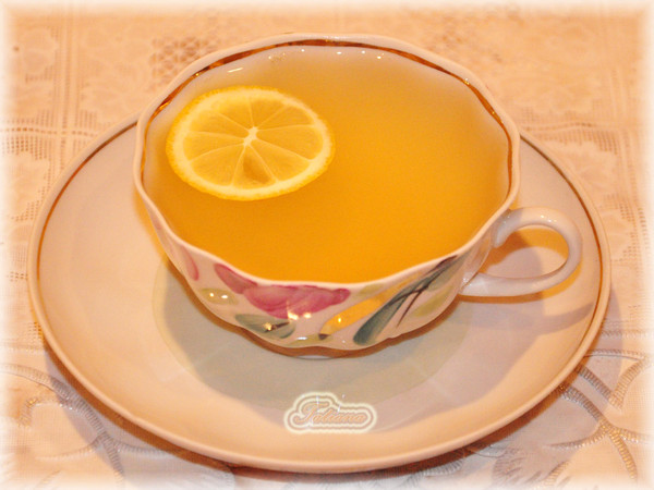 Лимонный чай в домашних условиях