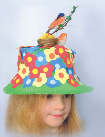 Как украсить шляпу своими руками для детского сада