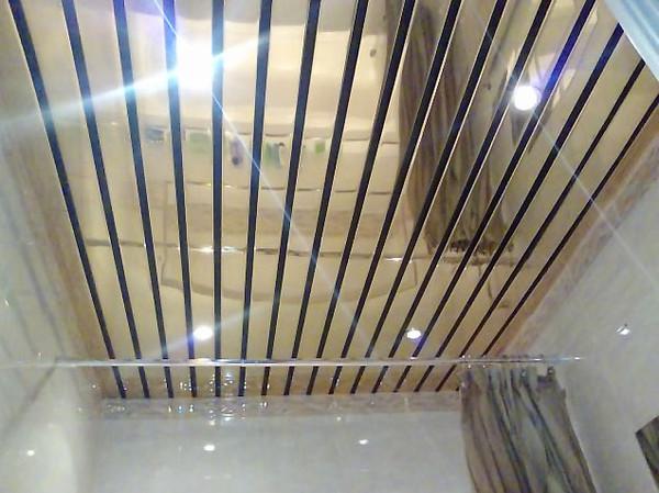 Потолок для ванной комнаты своими руками фото